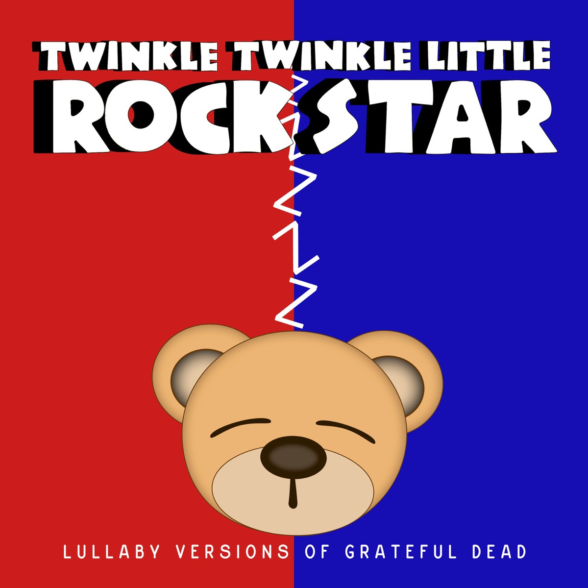 Lullaby Versions of Grateful Dead Twinkle Twinkle Little Rock Star CD cover