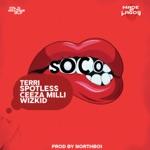 songs like Soco (feat. Wizkid, Ceeza Milli, Spotless & Terri)