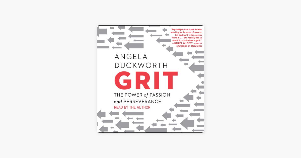 Grit (Unabridged) - Angela Duckworth