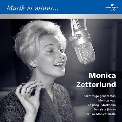 Musik vi minns: Monica Zetterlund - Monica Zetterlund