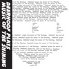 Plays Music of the Shining - Single ジャケット写真