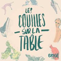 Podcast cover art for Les couilles sur la table