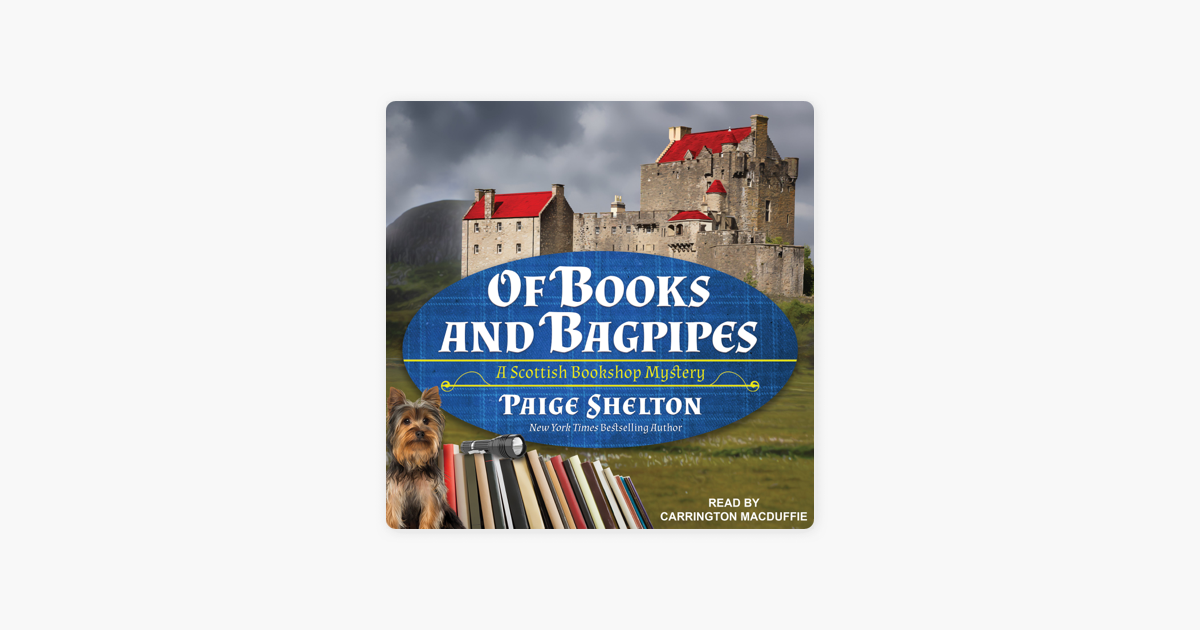 5479d2822f2e Of Books and Bagpipes: A Scottish Bookshop Mystery