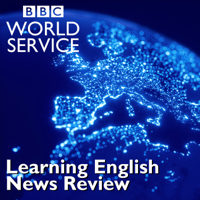 Podcast cover art for Learning English News Review