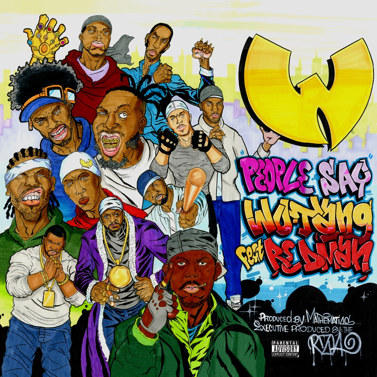 People Say Album Cover by Wu-Tang Clan
