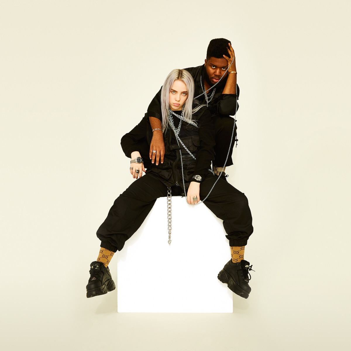 lovely - Single Billie Eilish  Khalid CD cover