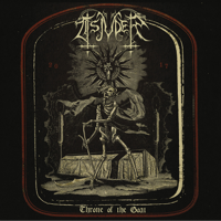 Tsjuder - Throne of the Goat artwork