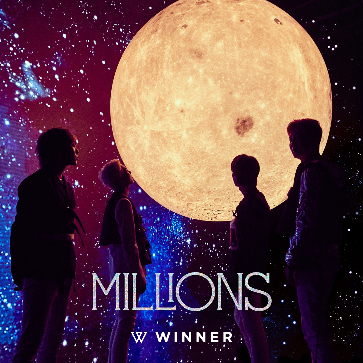 MILLIONS - Single WINNER CD cover