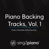 Piano Backing Tracks, Vol. 1 (Piano Karaoke Instrumentals)