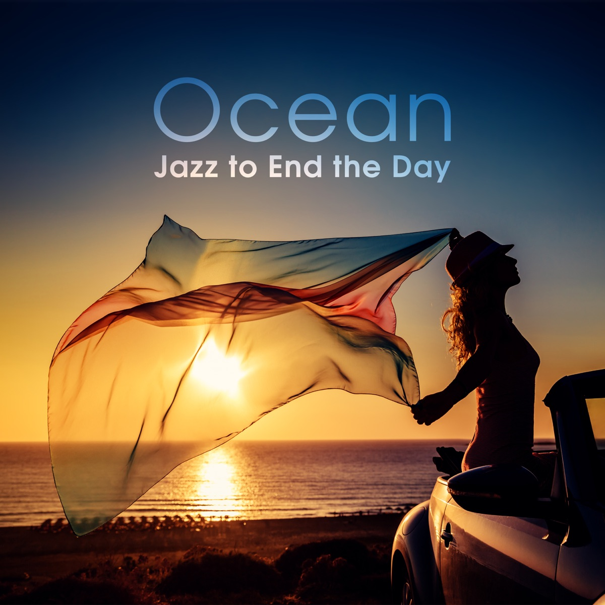 Ocean - Jazz to End the Day Album Cover by Piano Jazz