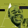 Louis Armstrong Sings : Back Through the Years