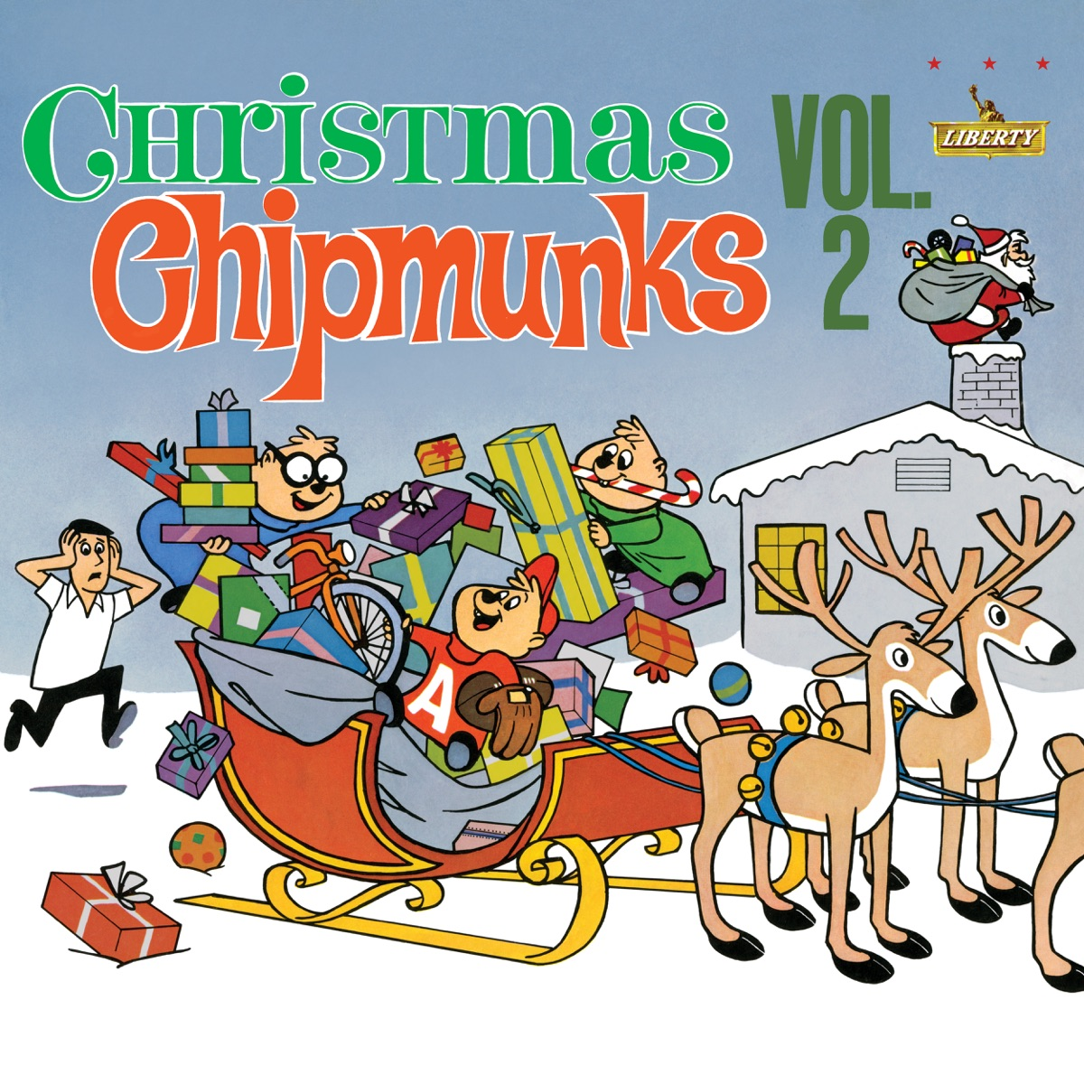 Christmas With The Chipmunks, Vol. 2 Album Cover by The Chipmunks ...