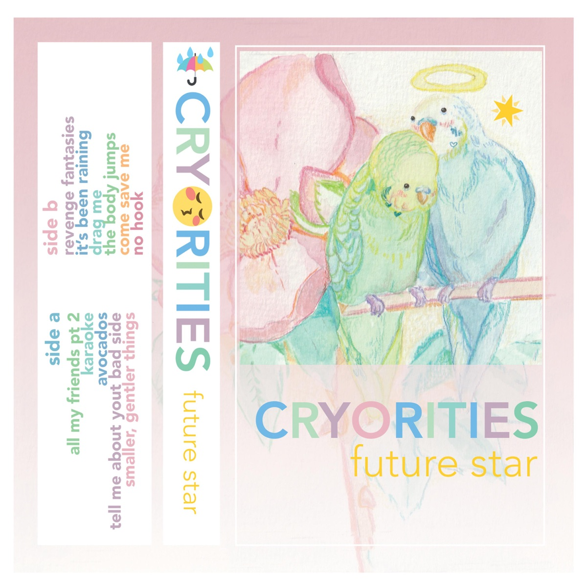 Cryorities Future Star CD cover