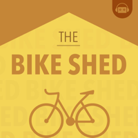 Podcast cover art for The Bike Shed