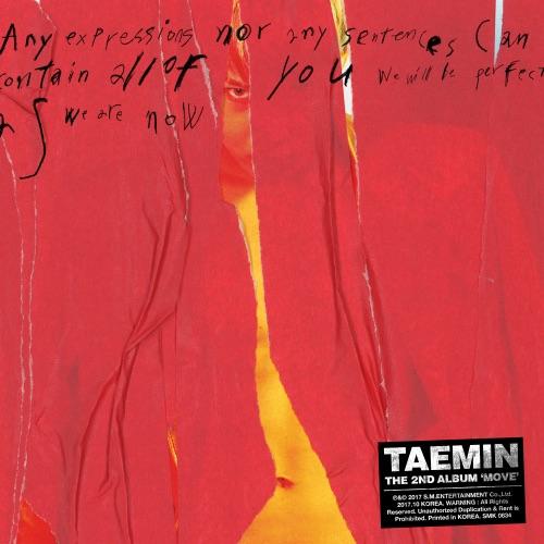 TAEMIN - MOVE - The 2nd Album