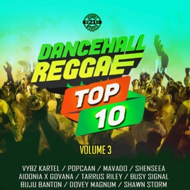 ‎Dancehall Reggae Top 10, Vol  3 by Various Artists