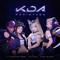 POP/STARS (feat. Jaira Burns) - K/DA, Madison Beer & (G)I-DLE lyrics