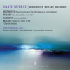 David Deveau & Borromeo String Quartet - Mozart, Beethoven & Harbison: Works Featuring Piano  artwork