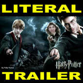 Literal Harry Potter and the Deathly Hallows Trailer