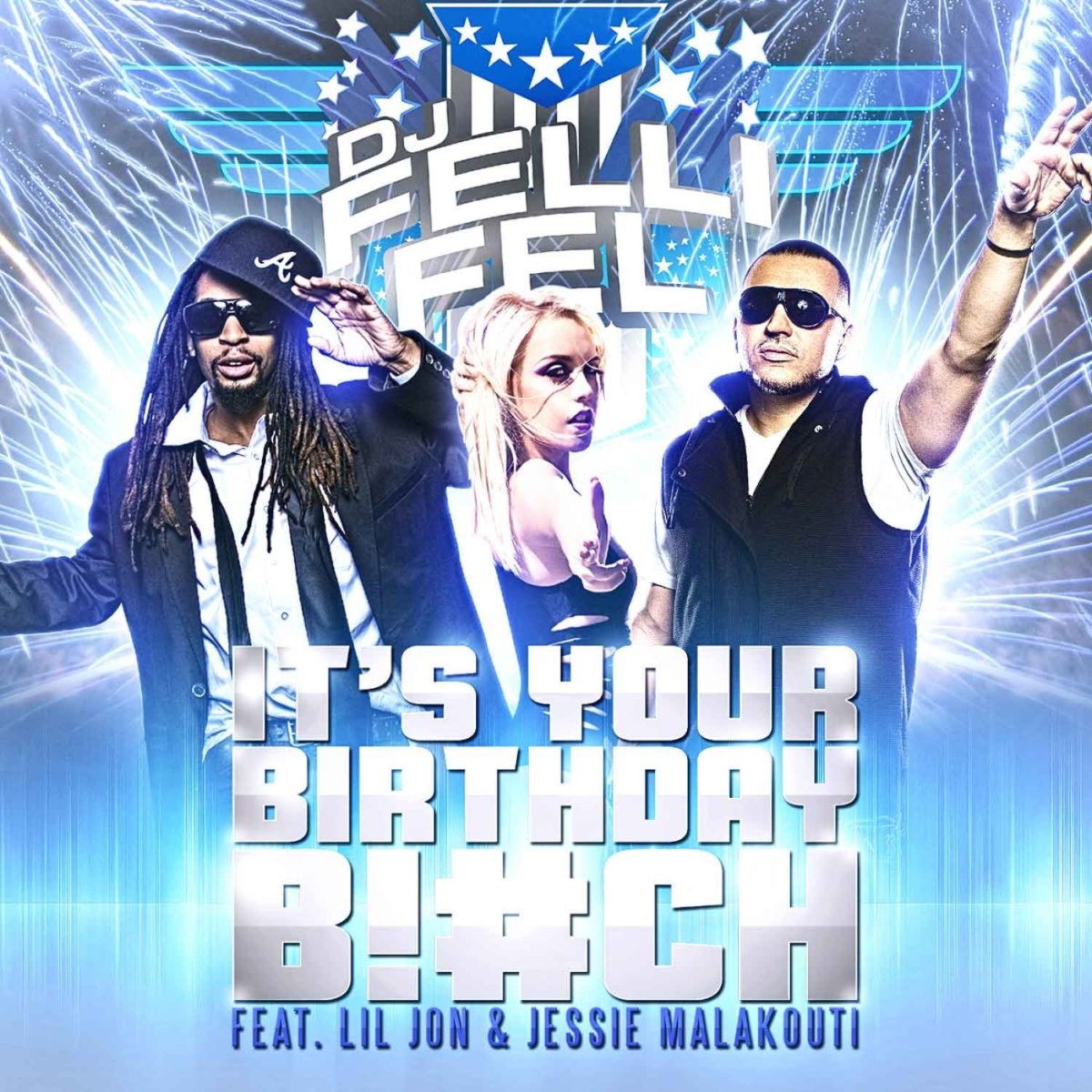 It's Your Birthday Album Cover by DJ Felli Fel