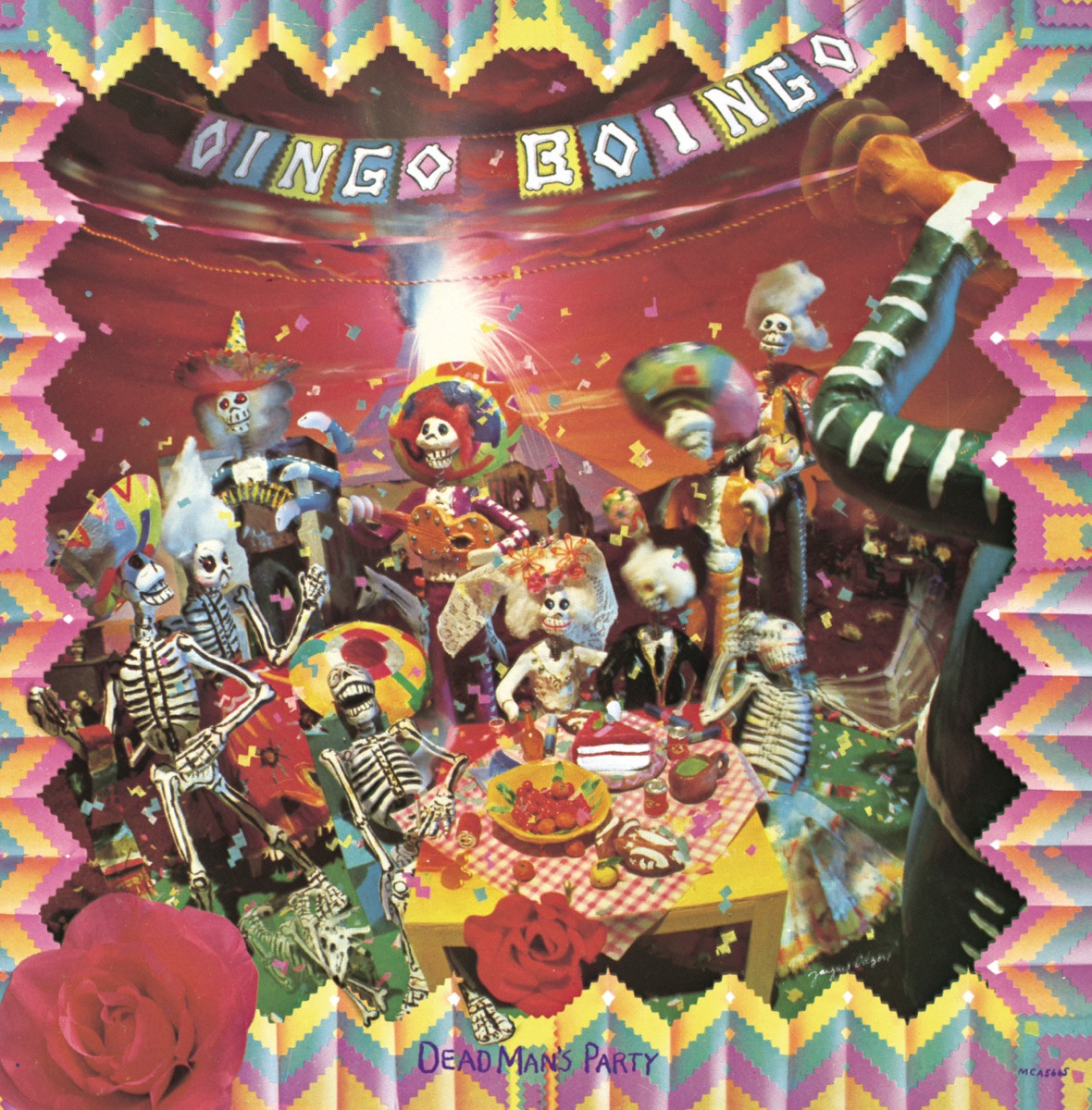 Dead Man S Party Album Cover By Oingo Boingo