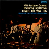 Milt Jackson - That's The Way It Is