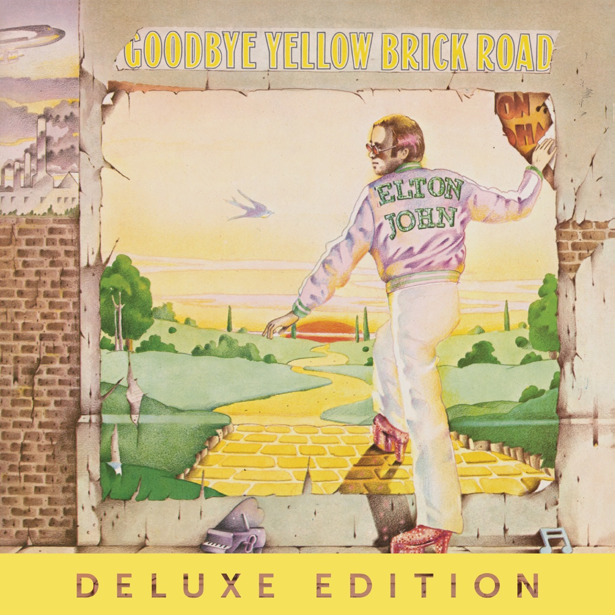 Goodbye Yellow Brick Road Deluxe Elton John CD cover