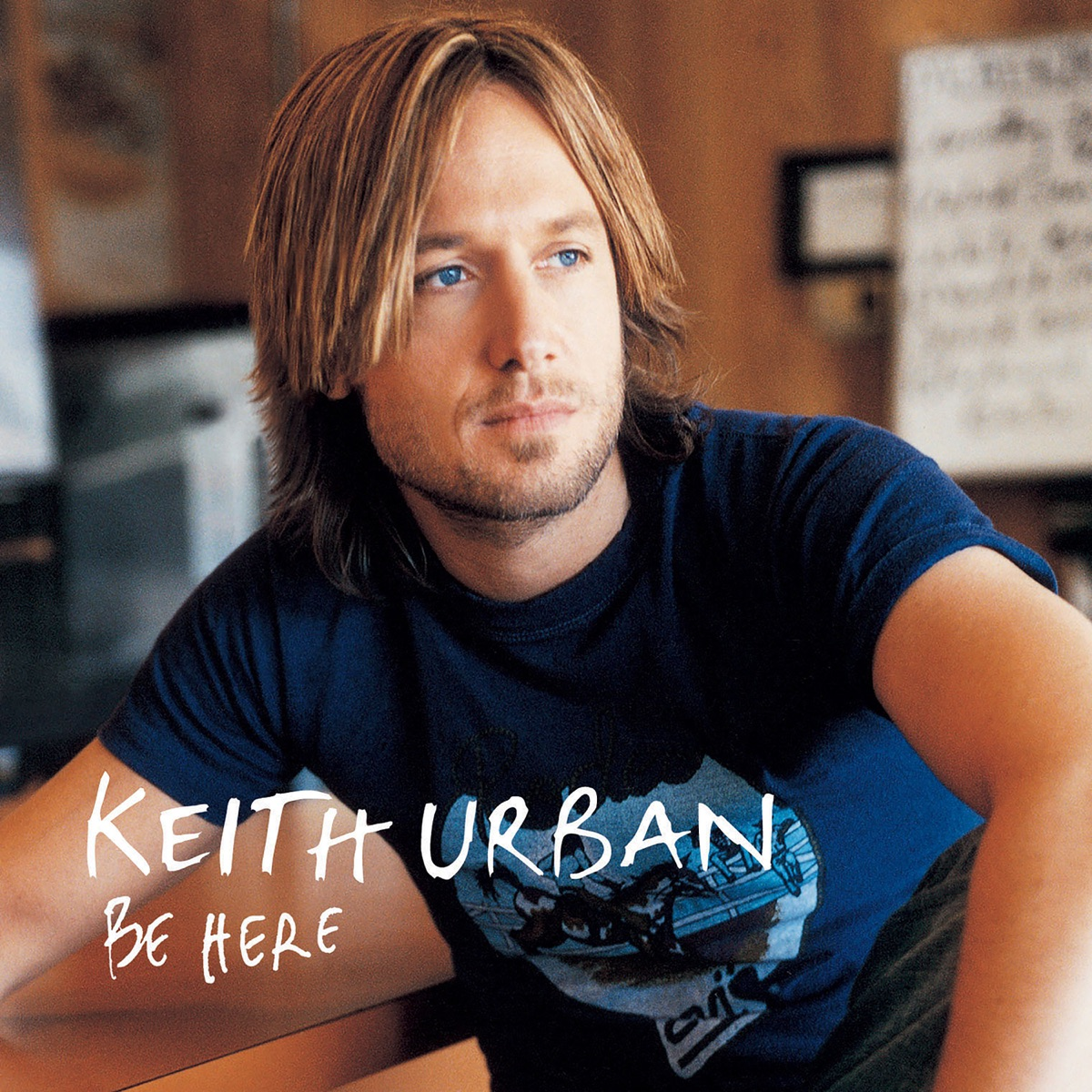 Be Here Keith Urban CD cover