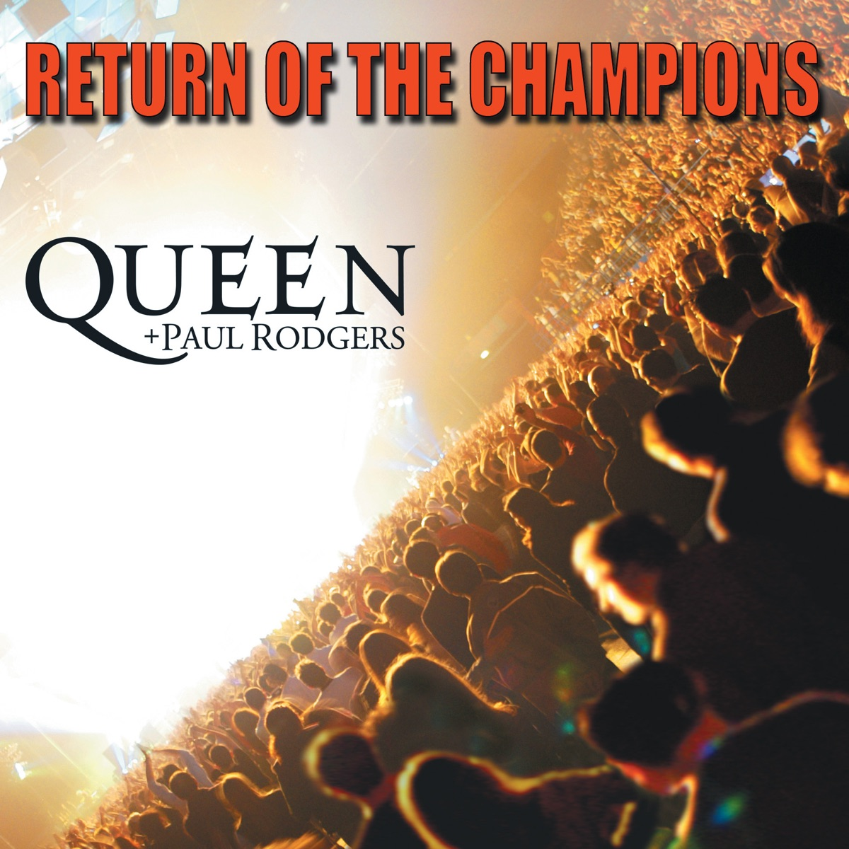 Return of the Champions Live Queen  Paul Rodgers CD cover
