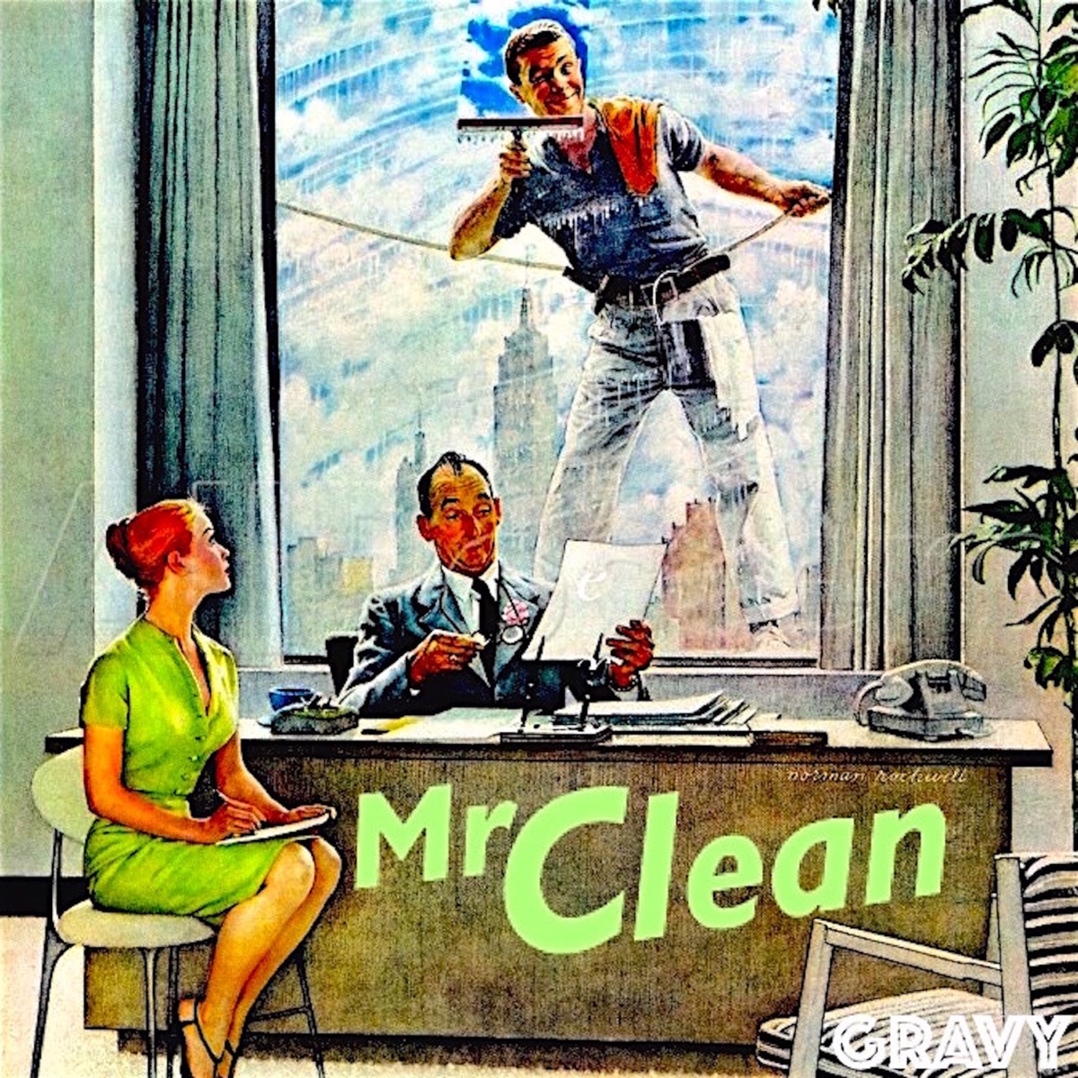 mr clean ep album cover by yung gravy