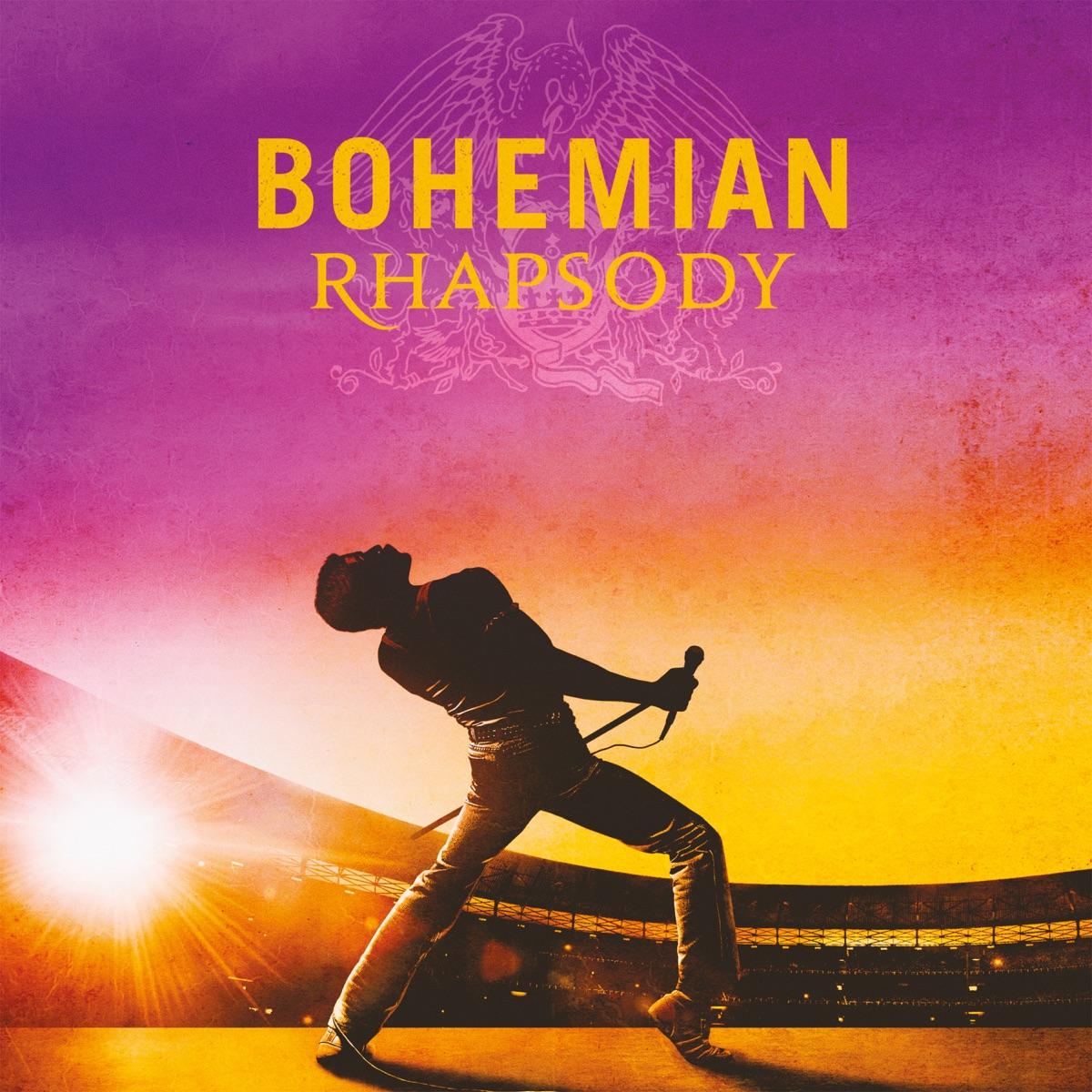 Bohemian Rhapsody The Original Soundtrack Queen CD cover