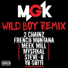 ‎Wild Boy (feat  2 Chainz, French Montana, Meek Mill, Mystikal, Steve-O &  Yo Gotti) [Remix] - Single by Machine Gun Kelly
