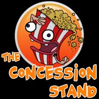 Podcast cover art for The Concession Stand - TV & Movies Industry Podcast