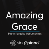 Free Download Amazing Grace (Key of D) [Piano Karaoke Version].mp3