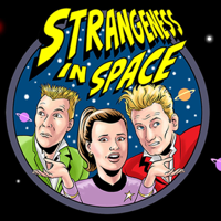 Podcast cover art for Strangeness in Space