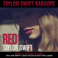 Taylor Swift - Red (Karaoke Edition) artwork