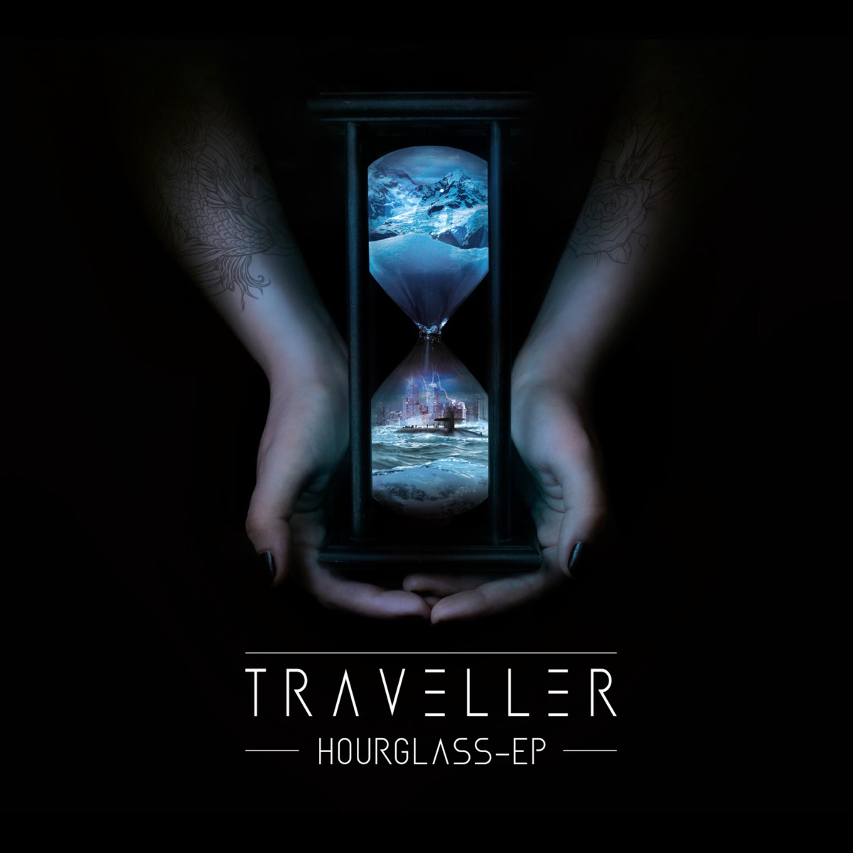 Hourglass EP Traveller CD cover