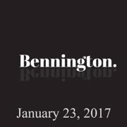 Bennington, January 23, 2017