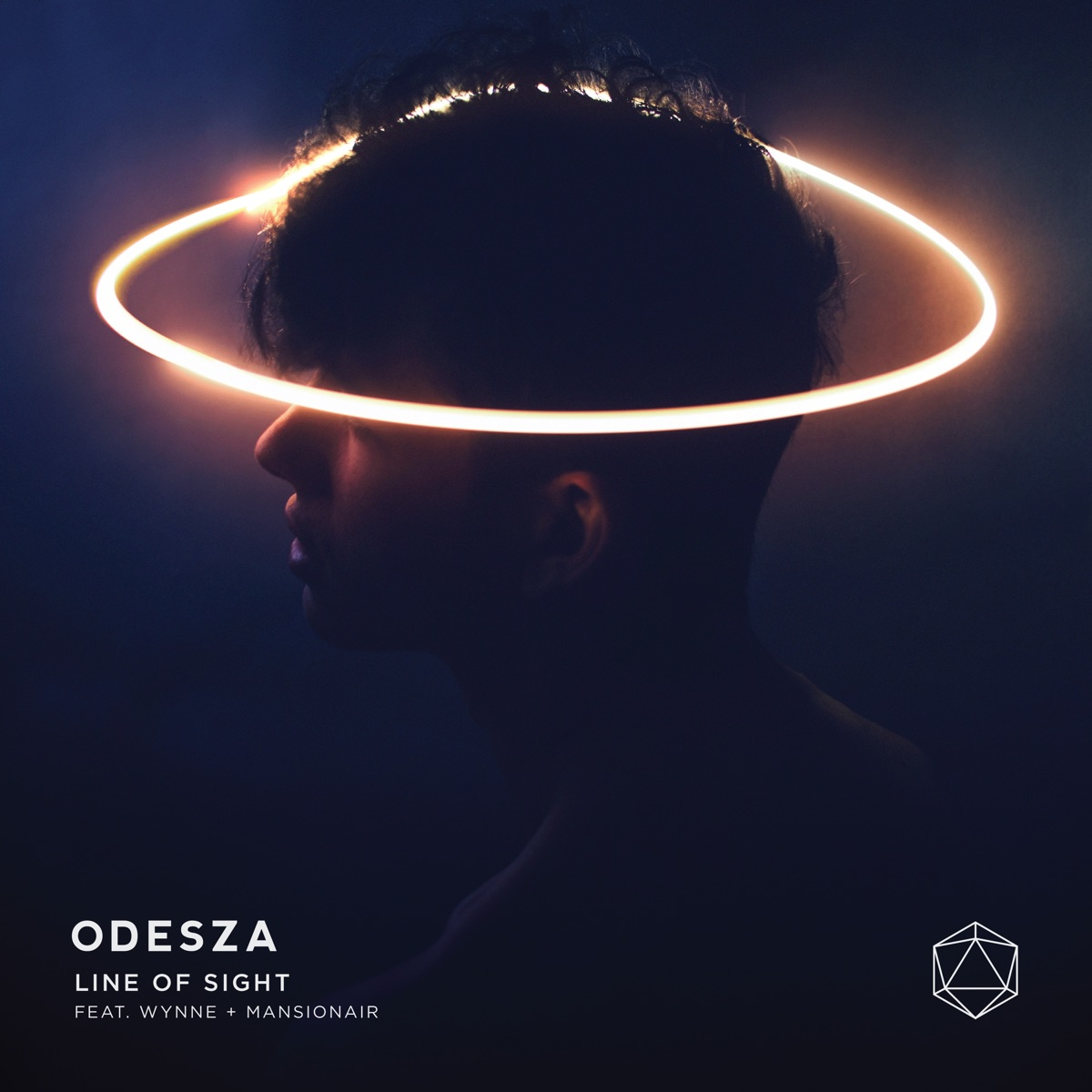 Line of Sight feat WYNNE  Mansionair - Single ODESZA CD cover