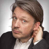 Podcast cover art for Richard Herring's Leicester Square Theatre Podcast