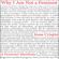 Jessa Crispin - Why I Am Not a Feminist: A Feminist Manifesto (Unabridged)