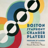 Boston Symphony Chamber Players - Introduction and Allegro for Harp, Flute, Clarinet and String Quartet