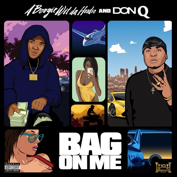 Bag on Me - Single A Boogie wit da Hoodie & Don Q album cover