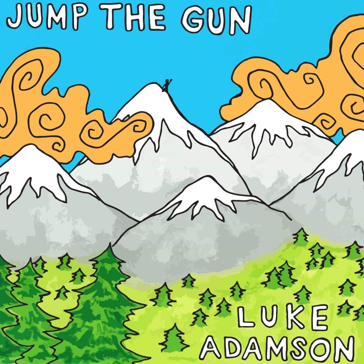 Jump the Gun - Single Luke Adamson CD cover
