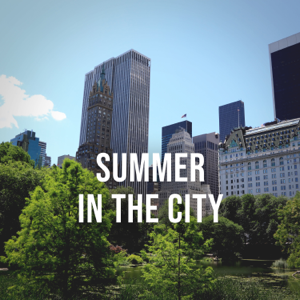 Urban Sounds - Summer in the City: Enjoy a Bright Summer Day in New York's Central Park, White Noise to Relax
