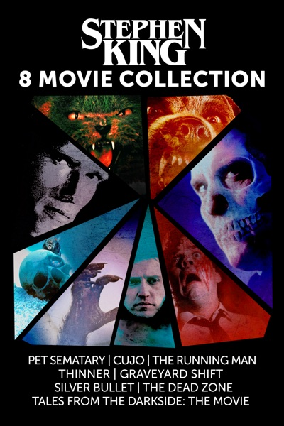 Stephen King 8 Movie Collection (Digital HD)