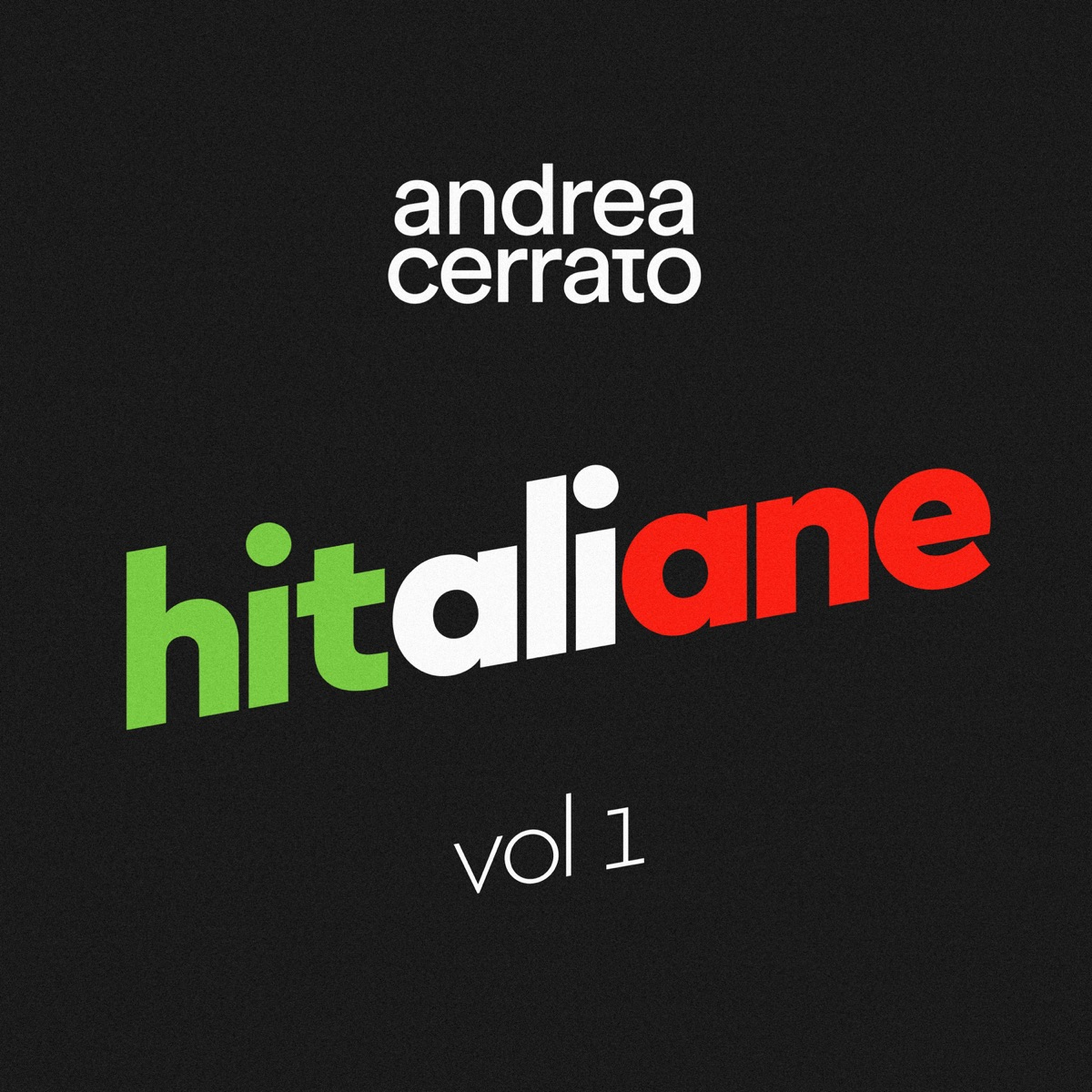 Hitaliane Vol 1 Andrea Cerrato CD cover
