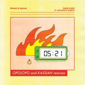Kraak & Smaak - 24HR Fling feat. Wolfgang Valbrun [OPOLOPO Remix Instrumental]