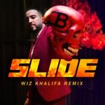 songs like Slide (feat. Wiz Khalifa, Blueface & Lil Tjay)
