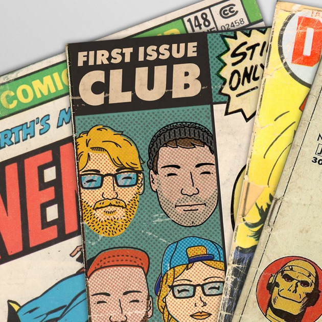 First Issue Club Comic Books by Fountain City Frequency on Apple